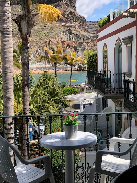 1 bedroom apartment with terrace in gran canaria