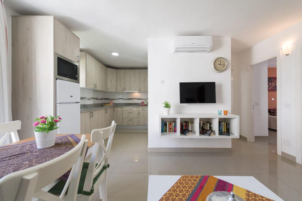 2 bedroom apartment in gran canaria with terrace